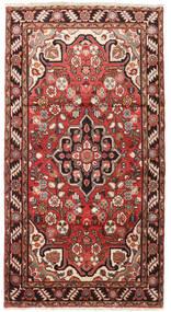 Hamadan Matto 104X192 Itämainen Käsinsolmittu Tummanpunainen/Tummanruskea (Villa, Persia/Iran)