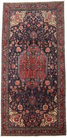 Jozan Matto 165X343 Itämainen Käsinsolmittu Tummanharmaa/Tummanruskea (Villa, Persia/Iran)