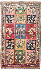 Bakhtiari Rug 92X150 Authentic Oriental Handknotted Dark Grey/Dark Beige (Wool, Persia/Iran)