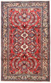 Rudbar Rug 95X155 Authentic  Oriental Handknotted Dark Brown/Dark Red (Wool, Persia/Iran)