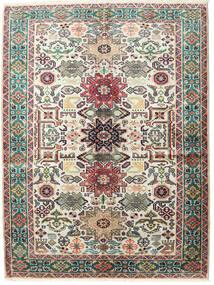 Ardabil Dywan 145X195 Orientalny Tkany Ręcznie Ciemnoszary/Beżowy (Wełna, Persja/Iran)