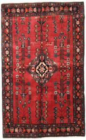 Afshar Tappeto 130X210 Orientale Fatto A Mano Ruggine/Rosso/Rosso Scuro/Nero (Lana, Persia/Iran)