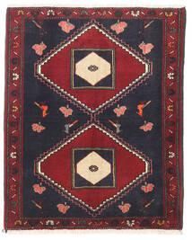 Klardasht Matto 80X100 Itämainen Käsinsolmittu Tummanharmaa/Tummanpunainen (Villa, Persia/Iran)