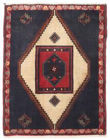 Klardasht Teppich 88X110 Echter Orientalischer Handgeknüpfter Dunkelgrau/Dunkelrot (Wolle, Persien/Iran)