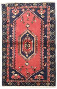 Klardasht Vloerkleed 98X150 Echt Oosters Handgeknoopt Rood/Zwart (Wol, Perzië/Iran)