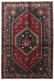 Klardasht Vloerkleed 130X195 Echt Oosters Handgeknoopt Donkerrood/Zwart (Wol, Perzië/Iran)