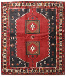 Klardasht Vloerkleed 180X220 Echt Oosters Handgeknoopt Roestkleur/Zwart (Wol, Perzië/Iran)