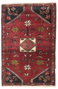 Kelardasht Rug 80X120 Authentic Oriental Handknotted Dark Red/Dark Blue (Wool, Persia/Iran)