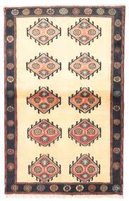 Kelardasht Tapis 97X150 D'orient Fait Main Beige/Noir (Laine, Perse/Iran)