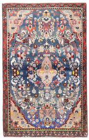 Sarough Matto 95X150 Itämainen Käsinsolmittu Beige/Vaaleanharmaa (Villa, Persia/Iran)