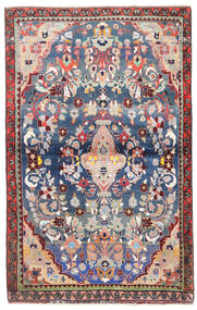 Sarough Alfombra 95X150 Oriental Hecha A Mano Beige/Gris Claro (Lana, Persia/Irán)
