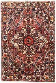 Bakhtiari Rug 145X215 Authentic Oriental Handknotted Dark Brown/Dark Red (Wool, Persia/Iran)