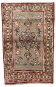 Koliai Tæppe 90X140 Ægte Orientalsk Håndknyttet Lysebrun/Lysegrå (Uld, Persien/Iran)