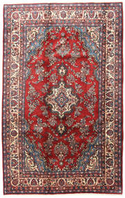 Hamadan Rug 170X265 Authentic  Oriental Handknotted Dark Red/Dark Brown (Wool, Persia/Iran)