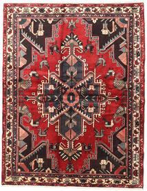 Bachtiar Teppich  164X210 Echter Orientalischer Handgeknüpfter Dunkelrot/Schwartz (Wolle, Persien/Iran)