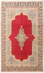 Kerman Patina Matta 205X335 Äkta Orientalisk Handknuten Röd/Roströd (Ull, Persien/Iran)