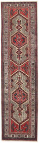 Sarab Patina Dywan 87X327 Orientalny Tkany Ręcznie Chodnik Ciemnobrązowy/Brązowy (Wełna, Persja/Iran)