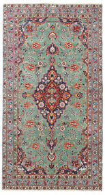 Keshan Patina Tæppe 96X175 Ægte Orientalsk Håndknyttet Lysegrå/Beige (Uld, Persien/Iran)