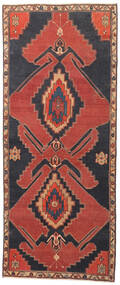 Ardebil Patina Rug 117X282 Authentic Oriental Handknotted Hallway Runner Dark Red/Dark Grey (Wool, Persia/Iran)
