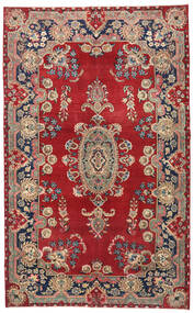Kerman Patina Rug 154X250 Authentic  Oriental Handknotted Dark Red/Black (Wool, Persia/Iran)