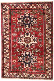 Ardebil Patina Teppich 70X105 Echter Orientalischer Handgeknüpfter Dunkelrot/Rost/Rot (Wolle, Persien/Iran)
