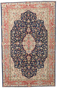 Kerman Patina Rug 149X236 Authentic  Oriental Handknotted Dark Purple/Dark Red (Wool, Persia/Iran)