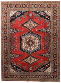 Wiss Koberec 212X288 Orientální Ručně Tkaný Tmavě Hnědá/Červenožlutá (Vlna, Persie/Írán)