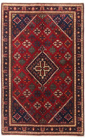 Joshaghan Matto 131X208 Itämainen Käsinsolmittu Tummanpunainen/Tummanruskea (Villa, Persia/Iran)