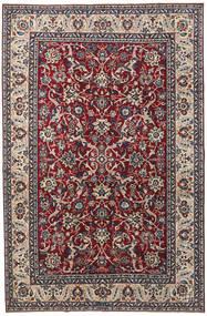 Jazd Patina Dywan 200X304 Orientalny Tkany Ręcznie Ciemnofioletowy/Jasnoszary (Wełna, Persja/Iran)