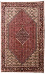 Bidjar Zanjan Rug 200X317 Authentic  Oriental Handknotted Dark Red/Dark Brown (Wool, Persia/Iran)