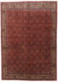 Bidjar Zanjan Rug 202X288 Authentic  Oriental Handknotted Dark Red/Dark Brown (Wool, Persia/Iran)