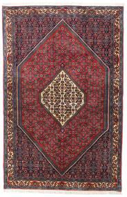 Bidżar Zanjan Dywan 115X178 Orientalny Tkany Ręcznie Ciemnoczerwony/Czarny (Wełna, Persja/Iran)