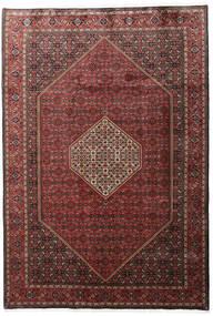 Bidjar Zanjan Rug 205X296 Authentic  Oriental Handknotted Dark Red/Dark Brown (Wool, Persia/Iran)