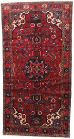 Borchalo Rug 148X285 Authentic  Oriental Handknotted Dark Red/Black (Wool, Persia/Iran)