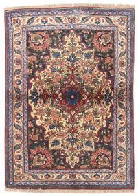 Bidjar Rug 95X133 Authentic  Oriental Handknotted Dark Grey/Dark Red (Wool, Persia/Iran)