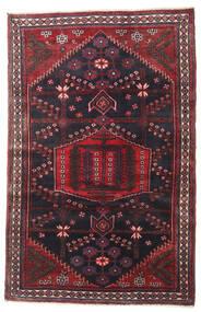 Nahawand Dywan 108X168 Orientalny Tkany Ręcznie Czarny/Ciemnobrązowy (Wełna, Persja/Iran)