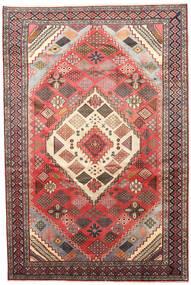 Joshaghan Dywan 195X290 Orientalny Tkany Ręcznie Ciemnobrązowy/Ciemnoczerwony (Wełna, Persja/Iran)