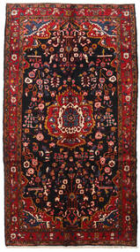 Hamadan Rug 160X285 Authentic  Oriental Handknotted Dark Red (Wool, Persia/Iran)