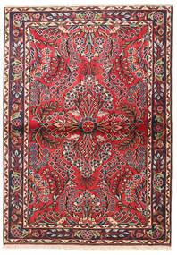 Lillian Rug 102X144 Authentic  Oriental Handknotted Dark Brown/Rust Red (Wool, Persia/Iran)