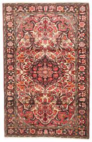 Borchalo Matta 108X167 Äkta Orientalisk Handknuten Mörkbrun/Mörkröd (Ull, Persien/Iran)