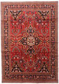 Lillian Dywan 212X302 Orientalny Tkany Ręcznie Ciemnoczerwony/Ciemnobrązowy/Rdzawy/Czerwony (Wełna, Persja/Iran)
