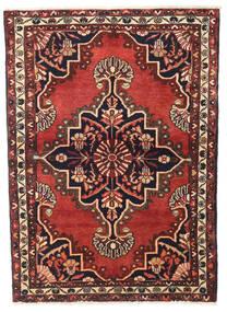 Hosseinabad Matto 110X155 Itämainen Käsinsolmittu Tummanruskea/Tummanpunainen (Villa, Persia/Iran)