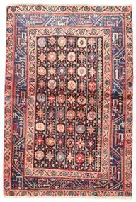Wiss Koberec 100X150 Orientální Ručně Tkaný Tmavě Fialová/Světle Růžová (Vlna, Persie/Írán)