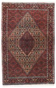 Bidżar Zanjan Dywan 113X175 Orientalny Tkany Ręcznie Ciemnoczerwony/Czarny (Wełna, Persja/Iran)