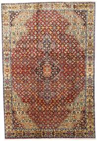 Zanjan Matta 207X306 Äkta Orientalisk Handknuten Mörkbrun/Mörkröd (Ull, Persien/Iran)