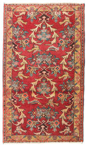 Zanjan Vloerkleed 76X128 Echt Oosters Handgeknoopt Roestkleur/Donkerbruin (Wol, Perzië/Iran)