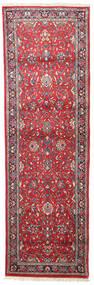 サルーク 絨毯 75X245 オリエンタル 手織り 廊下 カーペット ベージュ/赤 (ウール, ペルシャ/イラン)
