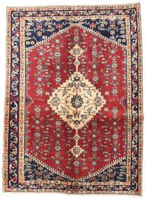 Hamadan Πατίνα Χαλι 128X170 Ανατολής Χειροποιητο Μπεζ/Σκούρο Γκρι (Μαλλί, Περσικά/Ιρανικά)