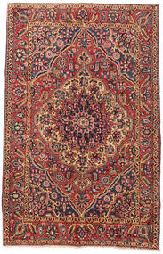 Bakhtiari Rug 162X253 Authentic  Oriental Handknotted Dark Red/Dark Brown (Wool, Persia/Iran)