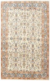 Kirman Tappeto 145X240 Orientale Fatto A Mano Beige/Bianco/Creme (Lana, Persia/Iran)